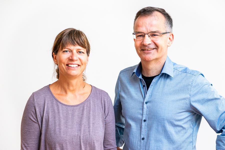 Nancy Keller und Markus Kunz